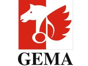 Logo mit geflügeltem Pferd © GEMA