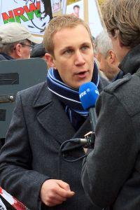 Daniel Zimmermann, Bürgermeister von Monheim Foto: Solches Wikipedia, 2013