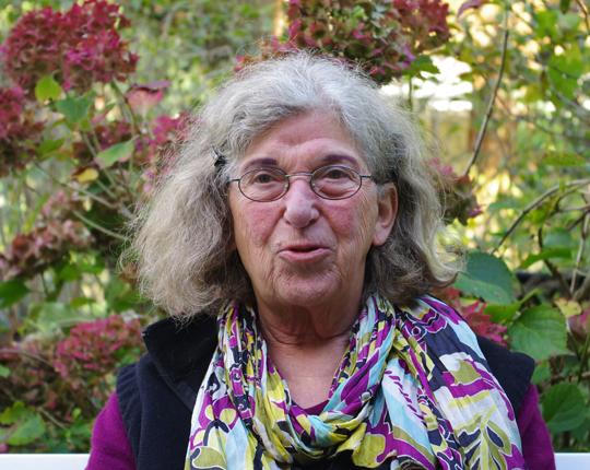 Marianne Brentzel, Foto: Ulrike Märkel, 2013