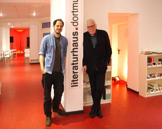 Rainer Holl und Kape Sachau Literaturhaus Dortmund, Foto: Ulrike Märkel 2014