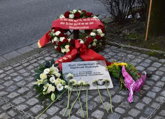 Gedenkstein Mehmet Kubasik, Foto: Ulrike Märkel