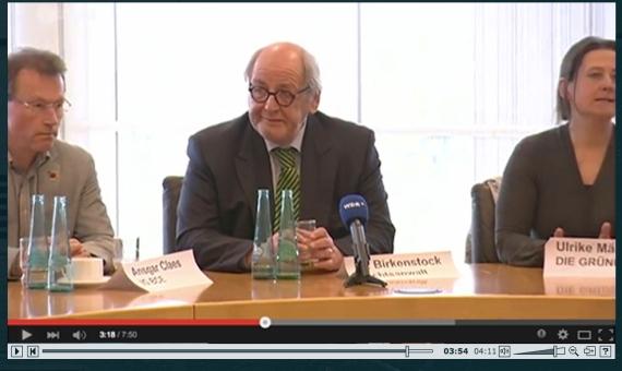 ZDF Frontal 21: Infoveranstaltung mit Dr. Birkenstock und Ulrike Märkel