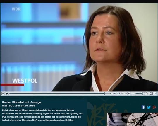 Das WDR-Magazin Westpol berichtet zur Rolle der Behörden
